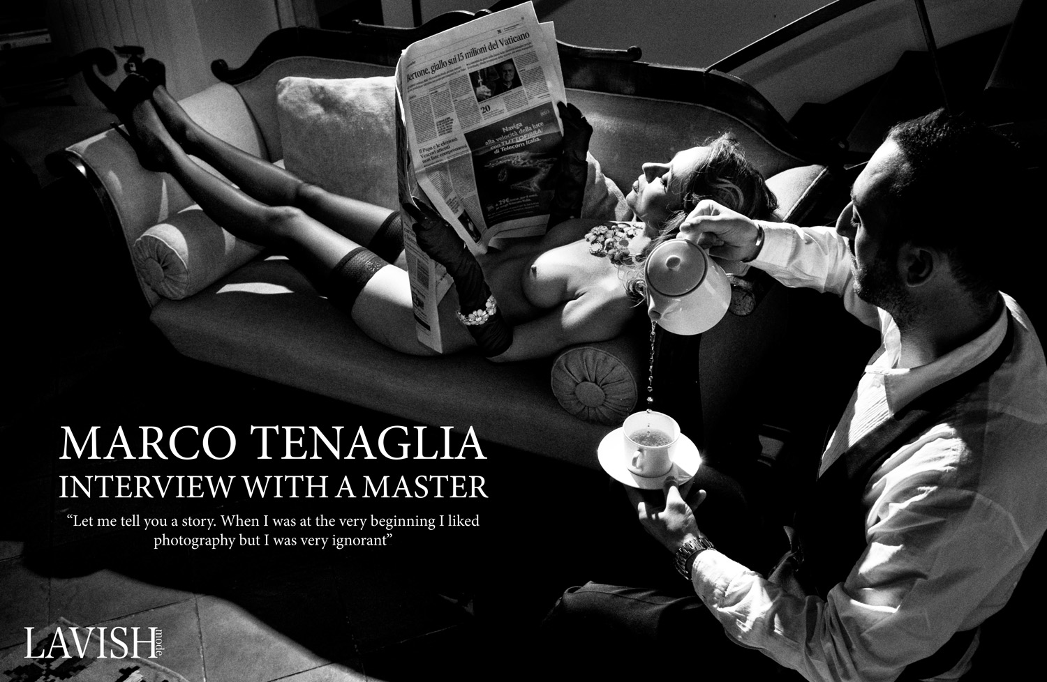 Marco Tenaglia: Interview with a master