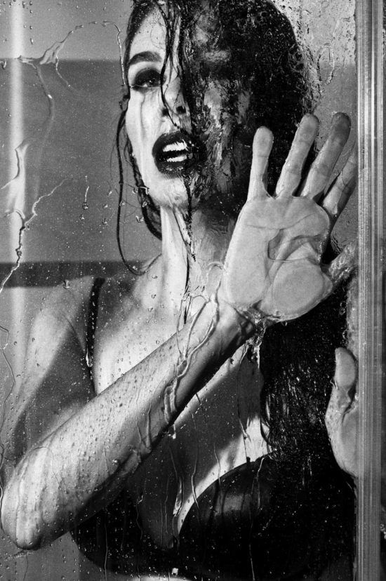 In the shower, Rome, 2017