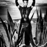 Dominant woman, Lagoon of Orbetello, 2012