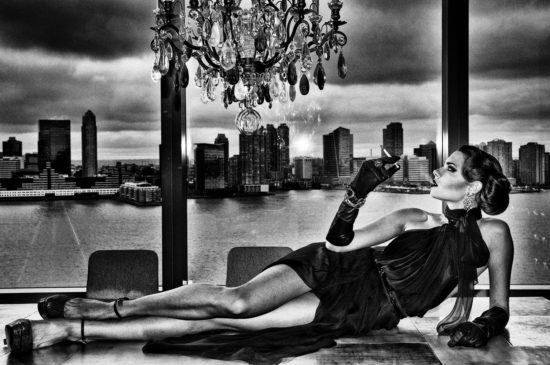 Model with cigarette II, New York, 2012